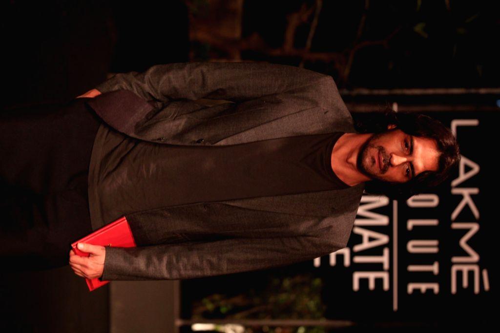Actor Arjun Rampal at Lakme Fashion Week (LFW) Summer/Resort 2019 in Mumbai, on Feb 3, 2019. - Arjun Rampal