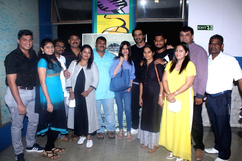 "Actor Arjun Rampal during the special screening of film ""Daddy"" in Mumbai on Sept 7, 2017. - Arjun Rampal"