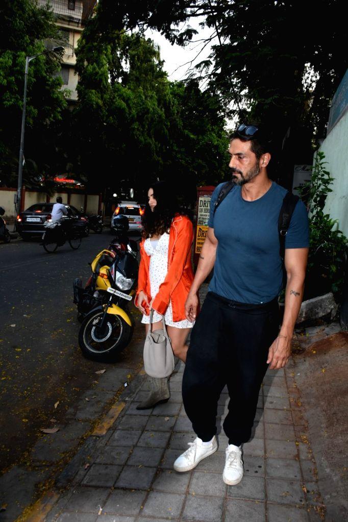 Actor Arjun Rampal seen at a studio in Mumbai's Bandra on April 26, 2019. - Arjun Rampal