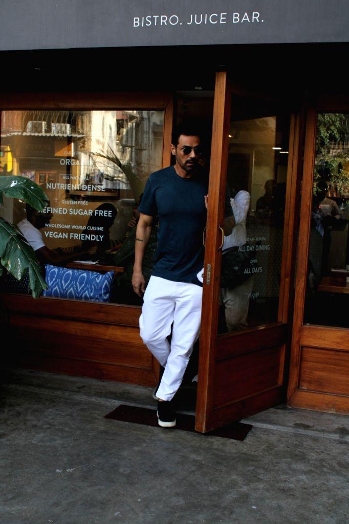 Actor Arjun Rampal seen in Mumbai's Bandra, on March 14, 2019. - Arjun Rampal