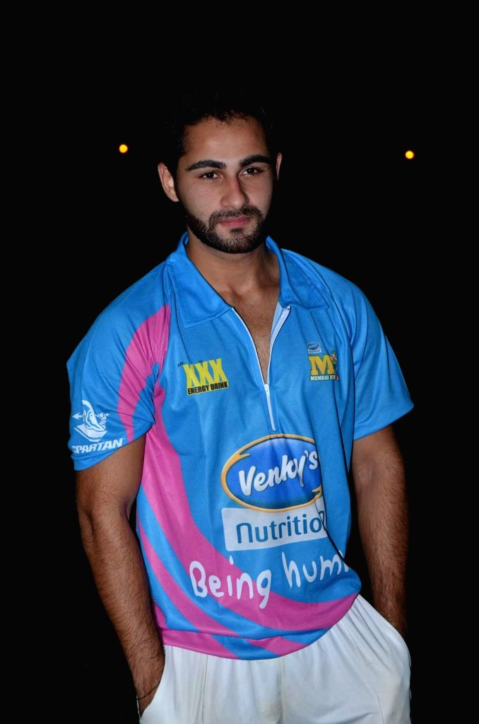 Actor Armaan Jain during the Corporate Cricket Match Season 2, in Mumbai, on Oct 26, 2015. - Armaan Jain