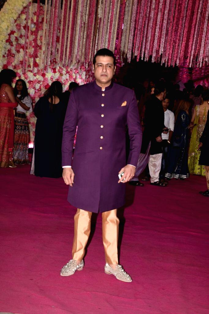 Actor Armaan Kohli at Azhar Morani and Tanya Seth's wedding reception in Mumbai on Feb. 9, 2019. - Armaan Kohli and Tanya Seth