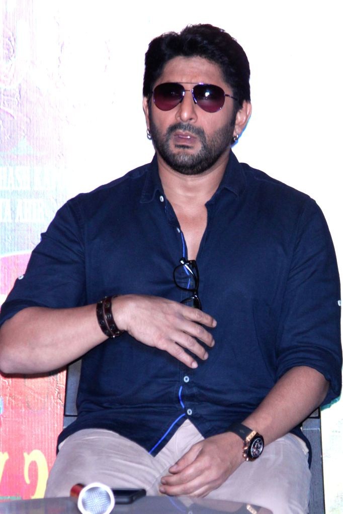 Actor Arshad Warsi during a press conference of their upcoming film ``Guddu Rangeela`` in Gurgaon on June 29, 2015. - Arshad Warsi