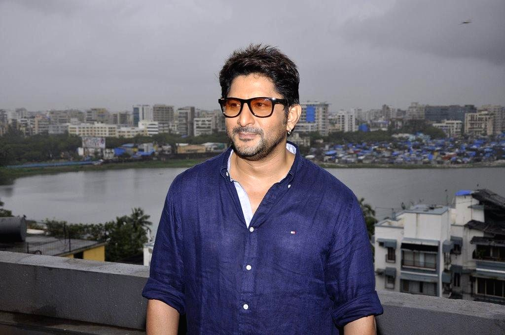 Actor Arshad Warsi during the muhurat of film Welcome to Karachi in Mumbai, on Sept. 5, 2014. - Arshad Warsi