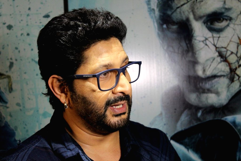 """Actor Arshad Warsi during the promotion of hindi version of """"Pirates of the Caribbean: Salazar's Revenge"""" in Mumbai on May 19, 2017. - Arshad Warsi"""