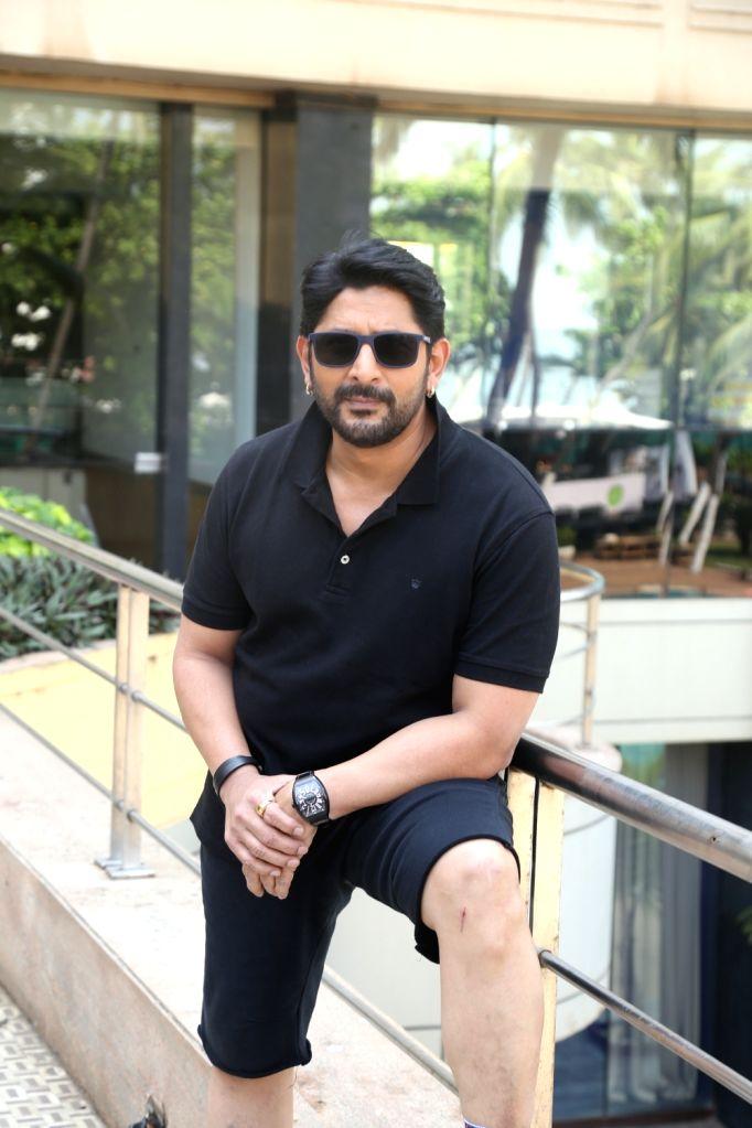 "Actor Arshad Warsi during the promotions of his upcoming film ""Pagalpanti"" in Mumbai on Nov 14, 2019. - Arshad Warsi"