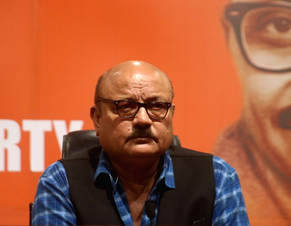 Actor Arun Bakshi who joined the BJP today, at the party's headquarter, in New Delhi on May 11, 2019. - Arun Bakshi
