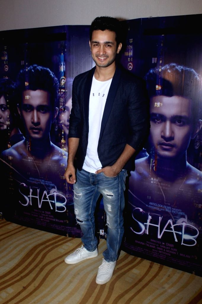 "Actor Ashish Bisht during the special screening of his film ""Shab"" in Mumbai, on July 1, 2017. - Ashish Bisht"