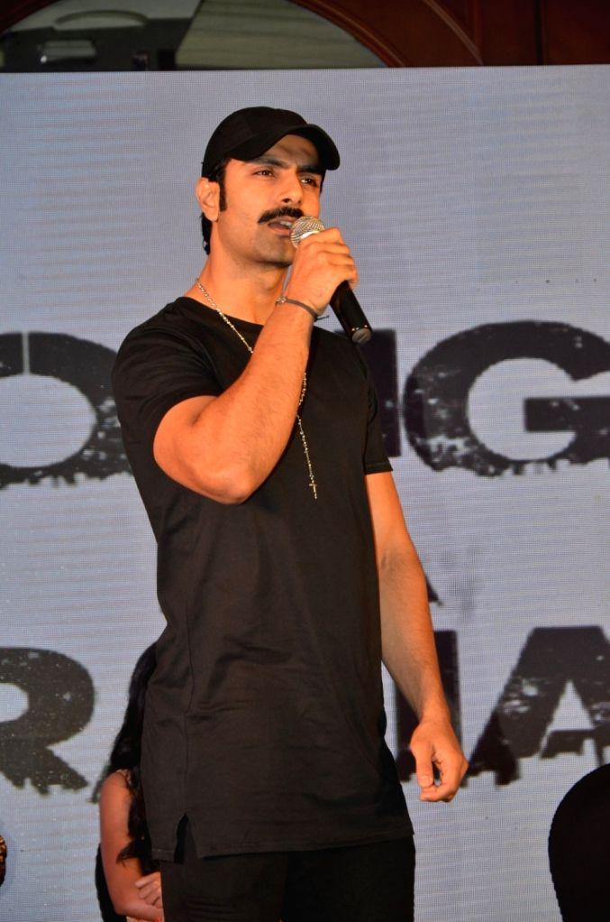 Actor Ashmit Patel during the trailer launch of film Dongri Ka Raja in Mumbai on Oct 12, 2016. - Ashmit Patel