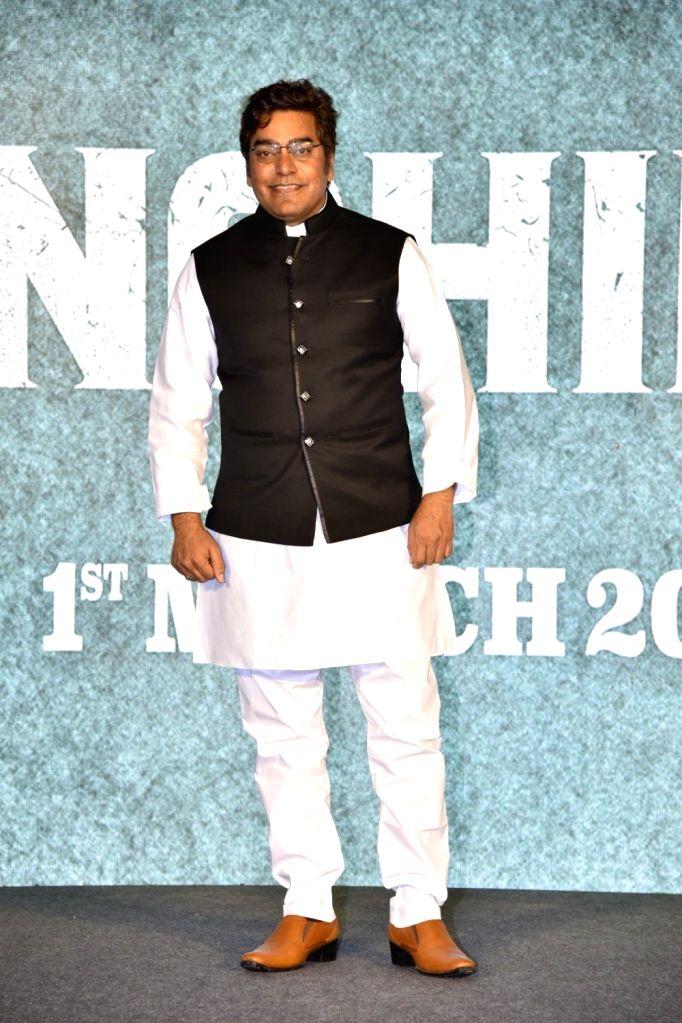 Actor Ashutosh Rana during a press conference to promote his upcoming film 'Sonchiriya' in Mumbai, on Feb 9, 2019. - Ashutosh Rana