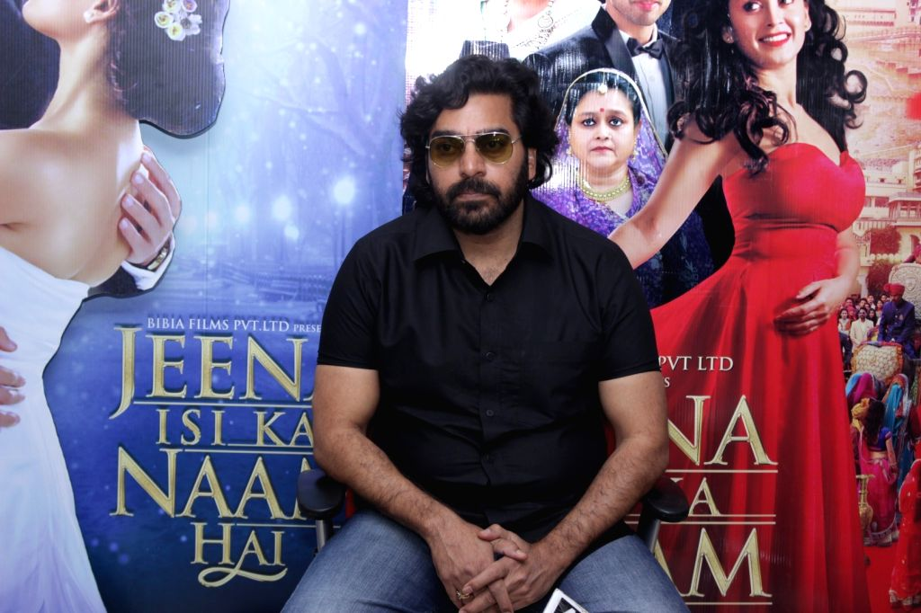 Actor Ashutosh Rana during an Interview For Film Jeena Isi Ka Naam Hai in Mumbai on Feb 27, 2017 - Ashutosh Rana