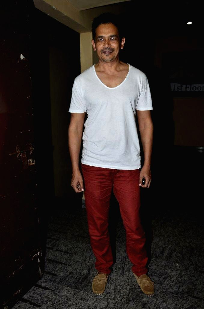 Actor Atul Kulkarni during the special screening of film Finding Fanny in Mumbai on Sept 7, 2014. - Atul Kulkarni