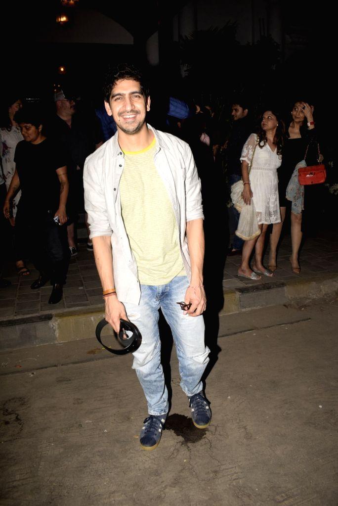 Actor Ayan Mukerji seen outside a club in Mumbai's Juhu, on March 3, 2019. - Ayan Mukerji