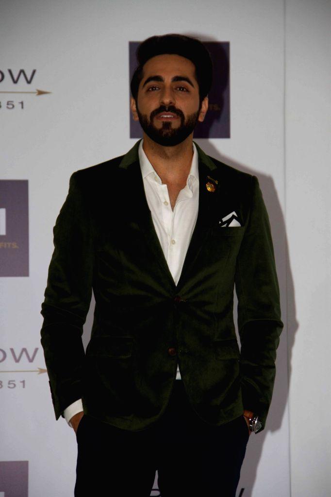 Actor Ayushmann Khurrana during the promotion of Arrow Shirts in Mumbai on April 20, 2016. - Ayushmann Khurrana