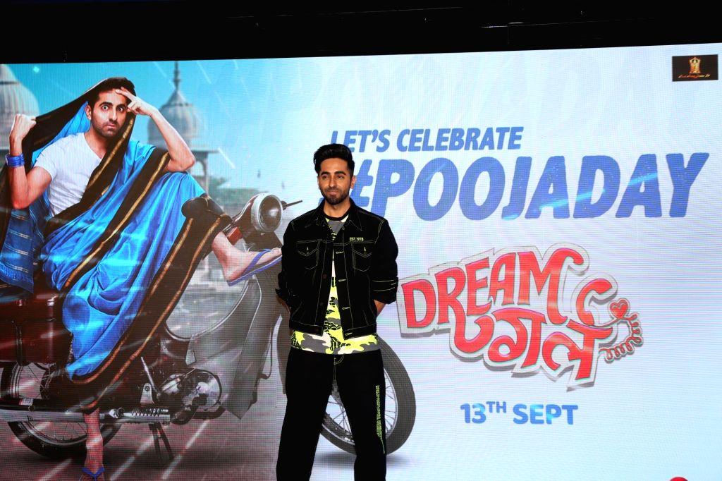 "Actor Ayusmann Khurrana during promotions of movie ""Dream Girl"" in Mumbai on Sep 7, 2019. - Ayusmann Khurrana"
