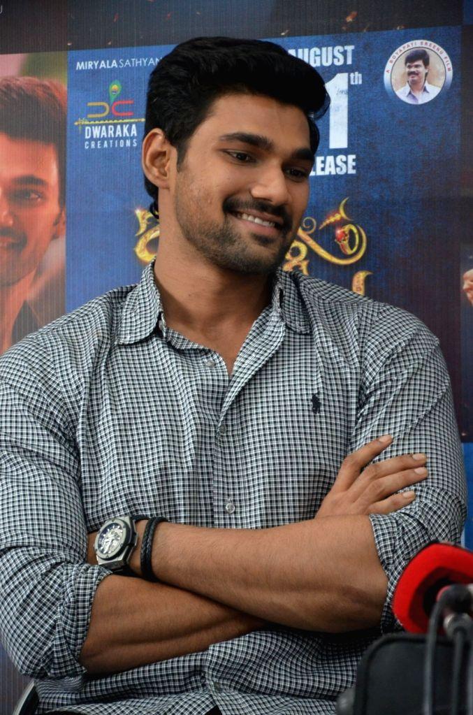 "Actor Bellamkonda Sreenivas stills from Telugu film ""Jaya Janaki Nayaka "" in Hyderabad. - Bellamkonda Sreenivas"