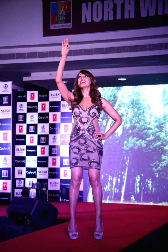 Actor Bipasha Basu during the music launch of film Creature 3D in Mumbai, on August 12, 2014. - Bipasha Basu