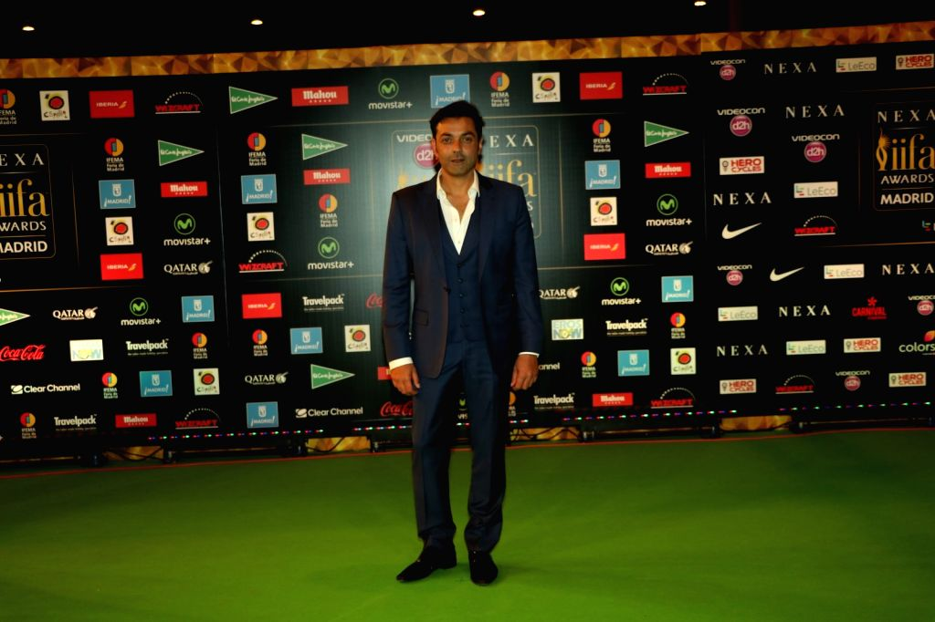 Actor Bobby Deol during IIFA Awards in Madrid on June 26, 2016. - Bobby Deol