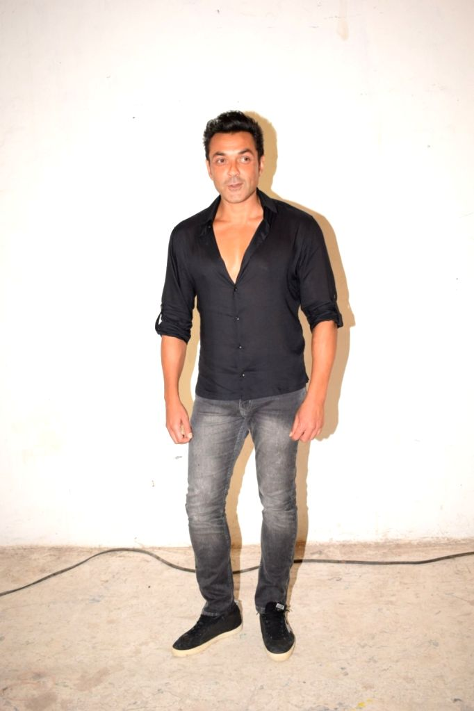"""Actor Bobby Deol during the media interaction of his upcoming film """"Race 3"""" at Mehboob studio in Bandra, Mumbai on May 19, 2018. - Bobby Deol"""