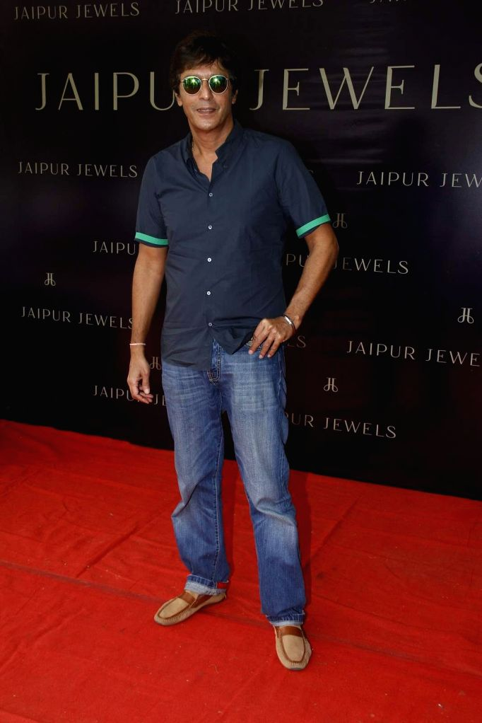 Actor Chunky Pandey during the launch of Jewels new collection Rise Anew in Mumbai, on Aug 12, 2015. - Chunky Pandey