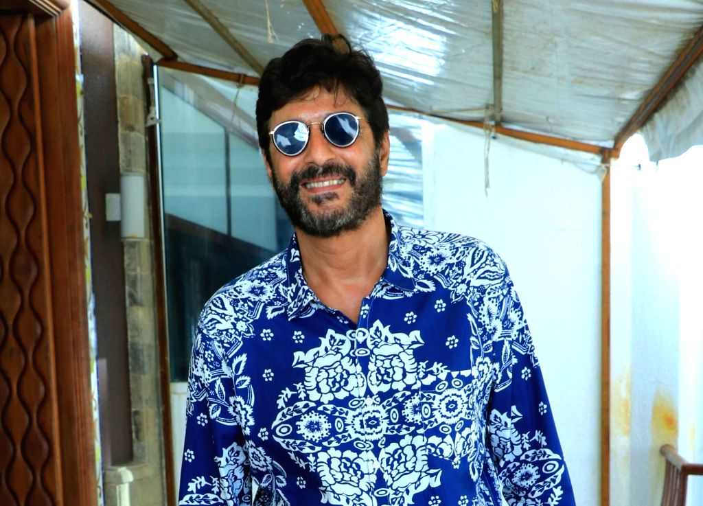 """Actor Chunky Pandey during the promotion of his upcoming film """"Prasthanam"""", in Mumbai, on Aug 26, 2019. - Chunky Pandey"""