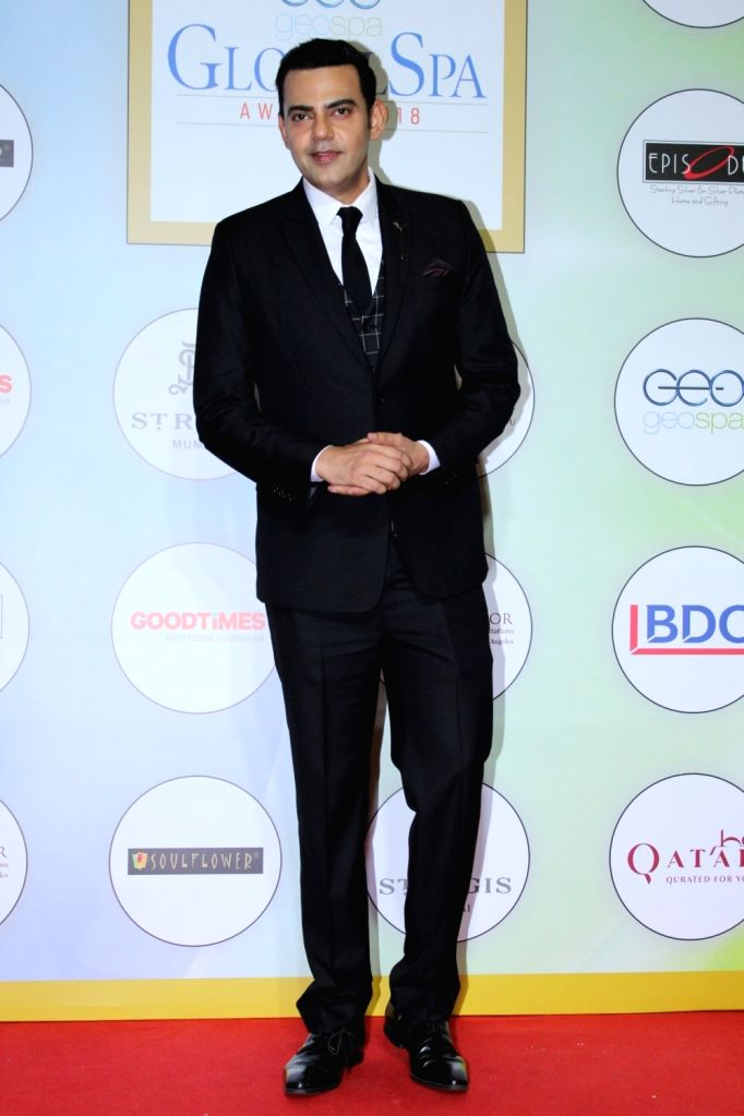"Actor Cyrus Sahukar at ""Global Spa Awards"" in Mumbai, on April 24, 2019. - Cyrus Sahukar"