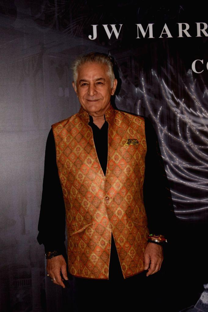 Actor Dalip Tahil at the red carpet of fashion designer Manish Malhotra's haute couture show, in Mumbai on Aug 1, 2018. - Dalip Tahil and Manish Malhotra