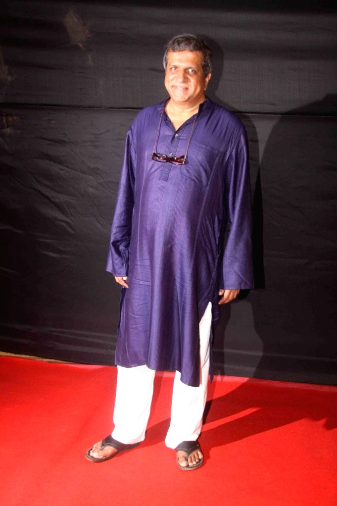 Actor Darshan Jariwala during the Dada Saheb Film Foundation Awards 2017 in Mumbai on May 7, 2017. - Darshan Jariwala