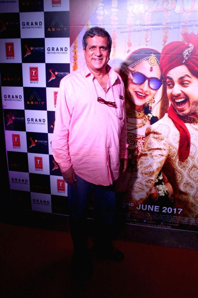 Actor Darshan Jariwala during the trailer launch of film Sweetiee Weds NRI in Mumbai on May 5, 2017. - Darshan Jariwala
