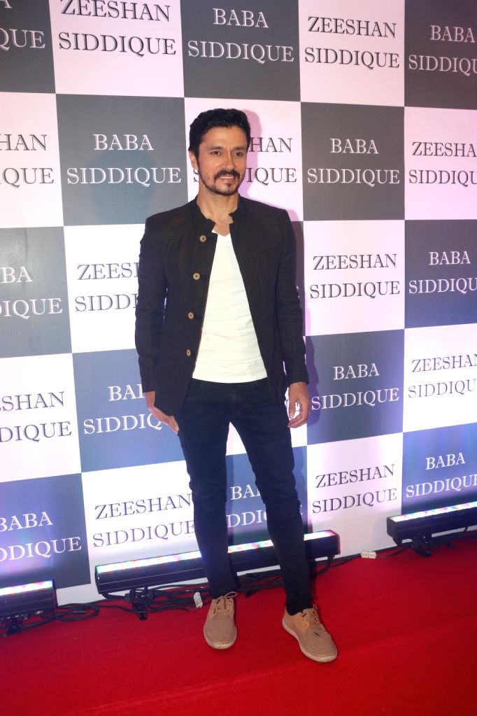 Actor Darshan Kumaar at Congress leader Baba Siddique's Iftar party in Mumbai, on June 2, 2019. - Darshan Kumaar