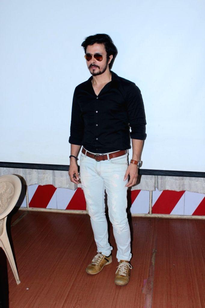 "Actor Darshan Kumaar during a press conference to promote his upcoming film ""A Gentleman"" in Mumbai on Aug 17, 2017. - Darshan Kumaar"