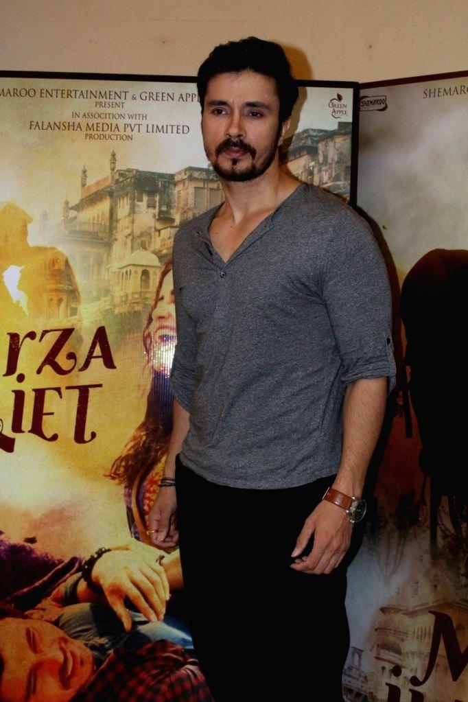 "Actor Darshan Kumaar during the promotional interview of film ""Mirza Juuliet"" in Mumbai on March 25, 2017. - Darshan Kumaar"