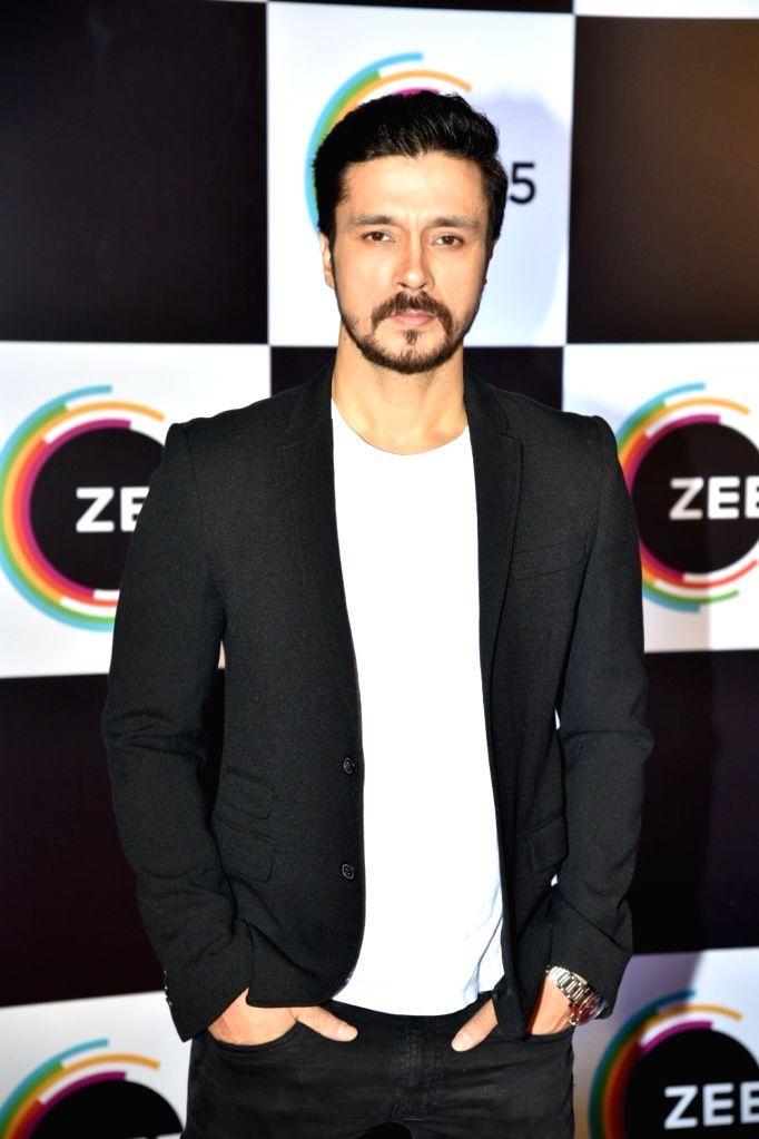 Actor Darshan Kumaar on the red carpet of Zee5's first anniversary celebrations in Mumbai, on Feb 14, 2019. - Darshan Kumaar