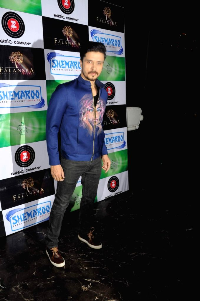Actor Darshan Kumar during the music launch of film Mirza Juuliet  on March 14, 2017. - Darshan Kumar