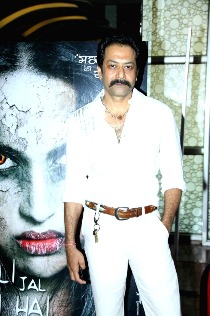 :Actor Deepraj Rana during the trailer launch of film Machhli Jal Ki Rani Hai in Mumbai, on May 28, 2014. (Photo: IANS).