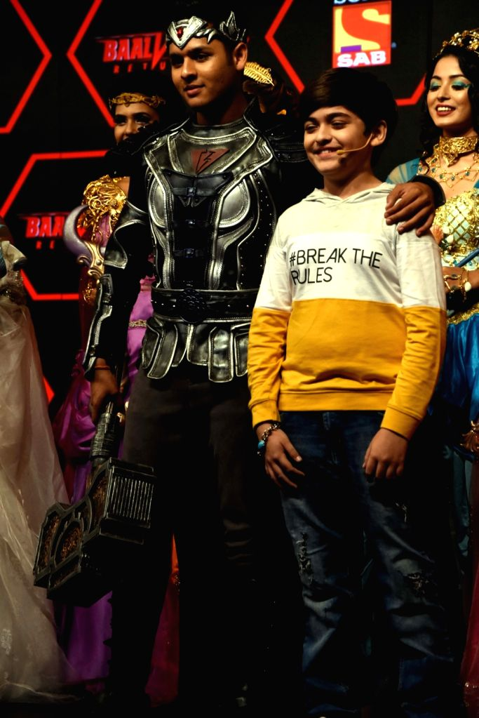 Actor Dev Joshi at the launch of his upcoming fantasy drama 'Baalveer Returns' that will be premiered at Sony SAB from September 10; in Mumbai on Sep 5, 2019. - Dev Joshi