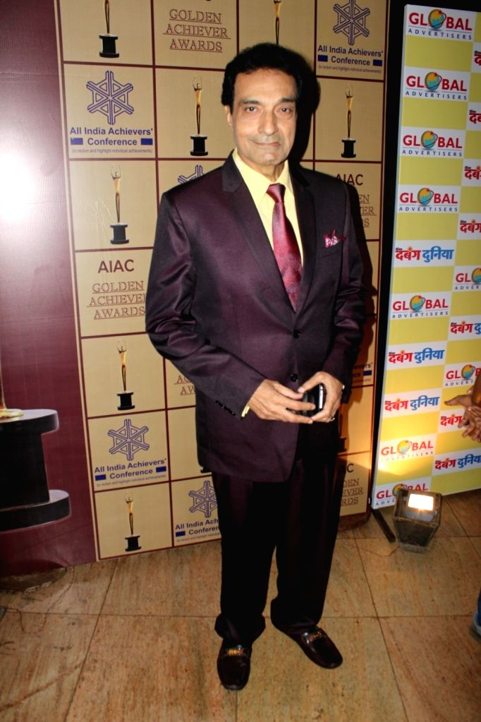 Actor Dheeraj Kapoor during the AIAC golden achiver awards in Mumbai, on May 30, 2017. - Dheeraj Kapoor