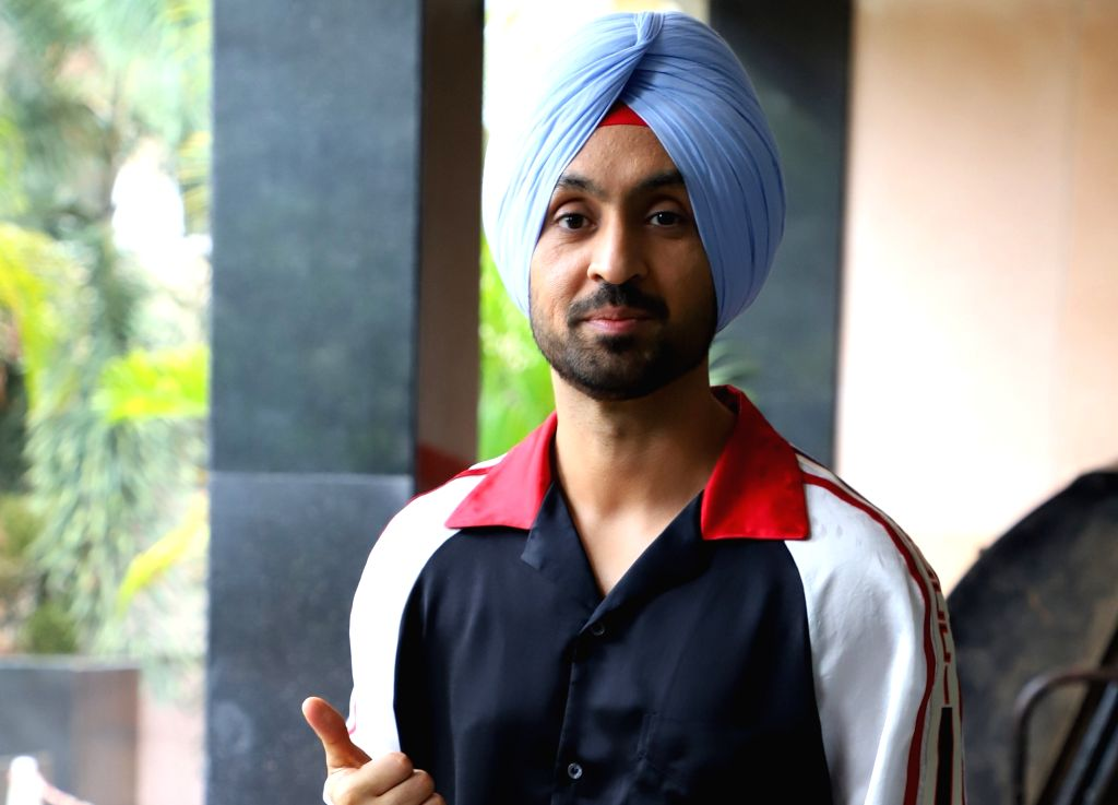 "Actor Diljit Dosanjh during the promotion of his upcoming film ""Shadaa"", in Mumbai on June 12, 2019. - Diljit Dosanjh"