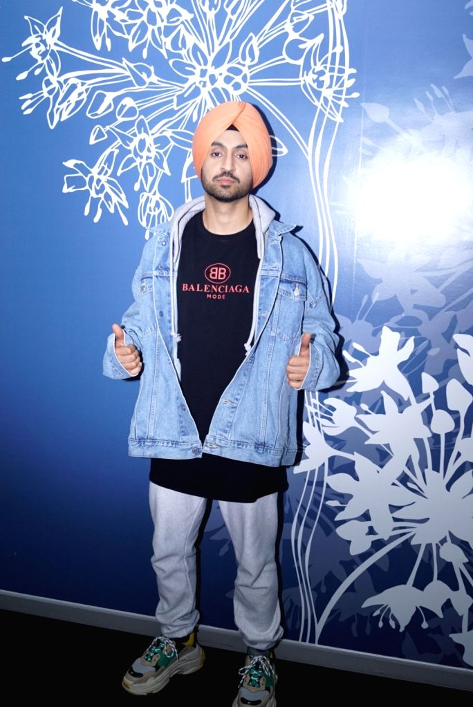 Actor Diljit Dosanjh seen at the office of Sony Pictures, in Mumbai on May 31, 2018. - Diljit Dosanjh
