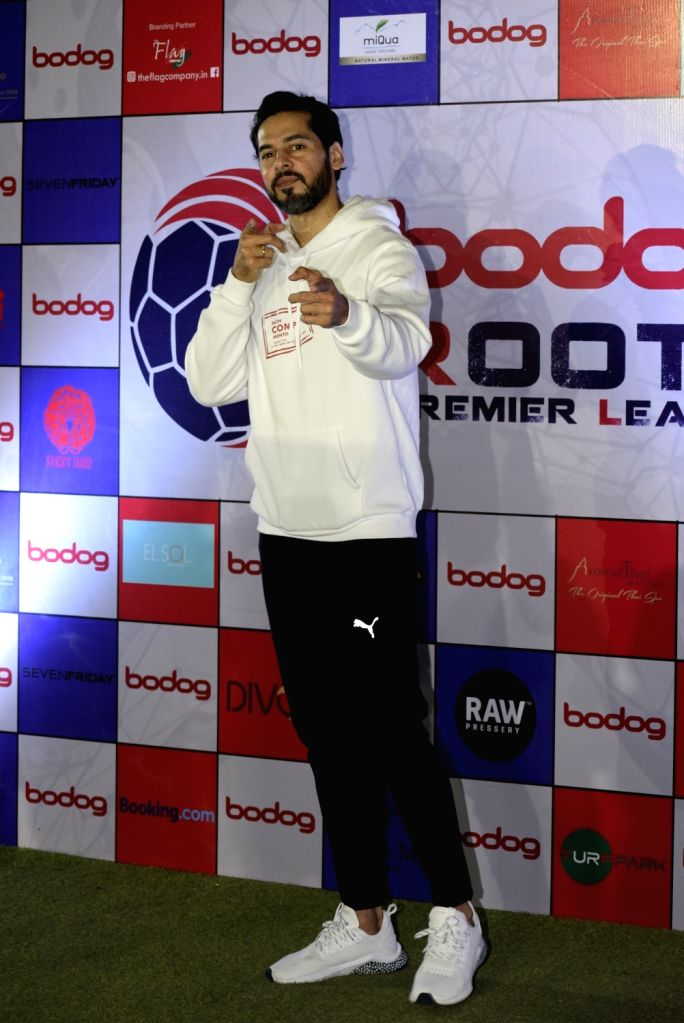 Actor Dino Morea at Roots Premier League Spring Season 2019, in Mumbai, on March 9, 2019. - Dino Morea