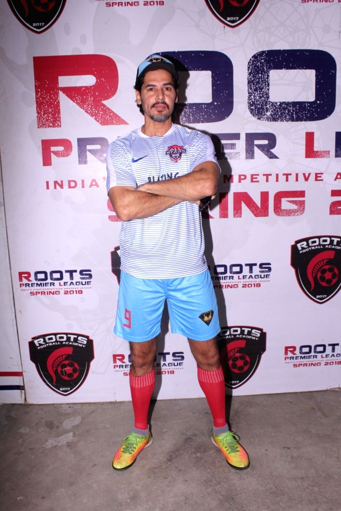 Actor Dino Morea during Roots Premier League, in Mumbai on May 19, 2018. - Dino Morea