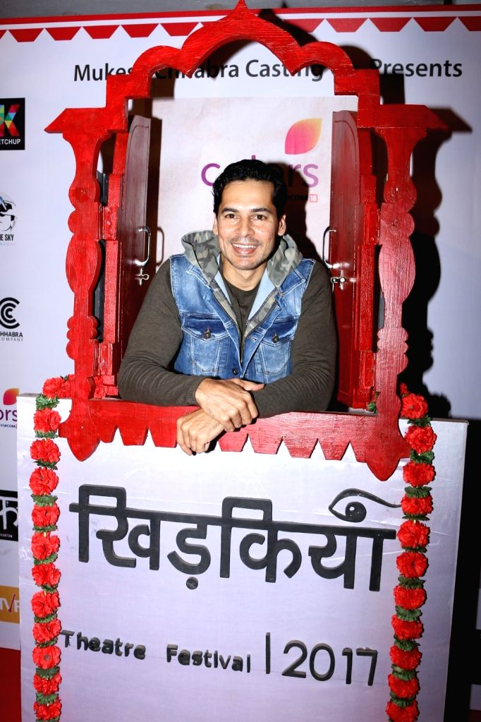 Actor Dino Morea during the Colours Khidkiyaan Theater Festival-Day 5 in Mumbai on March 5, 2017. - Dino Morea
