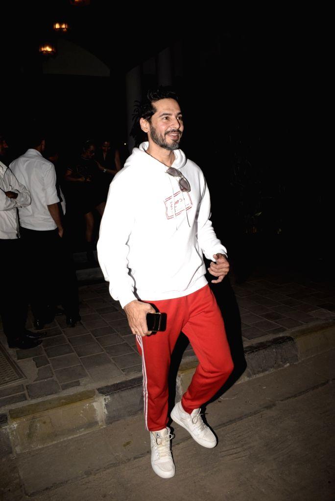 Actor Dino Morea seen at a Juhu restaurant in Mumbai on Feb. 03, 2019. - Dino Morea