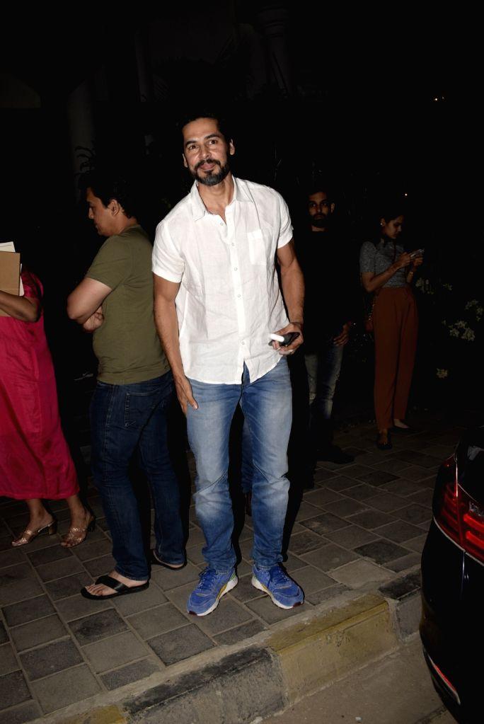 Actor Dino Morea seen at Soho house in Mumbai on Feb 24, 2019. - Dino Morea