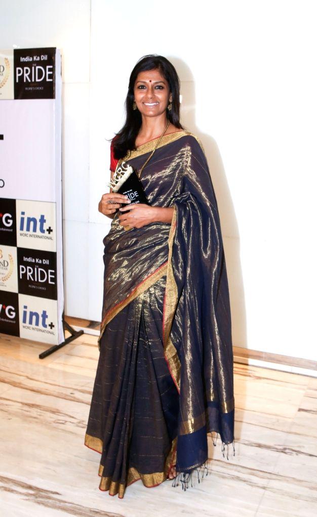 Actor-director Nandita Das during the third edition of the WCRC Idea-fest 2018 awards in Mumbai on Aug 27, 2018. - Nandita Das