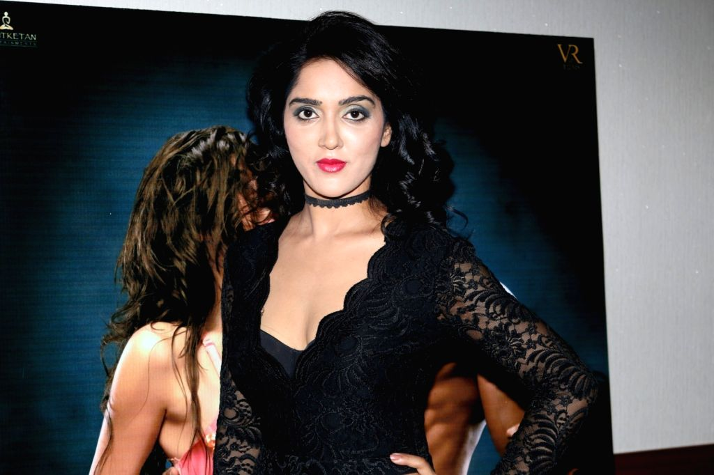 Actor Divya Singh during the song launch of film Ishq Junoon, in Mumbai, on Oct 26, 2016. - Divya Singh