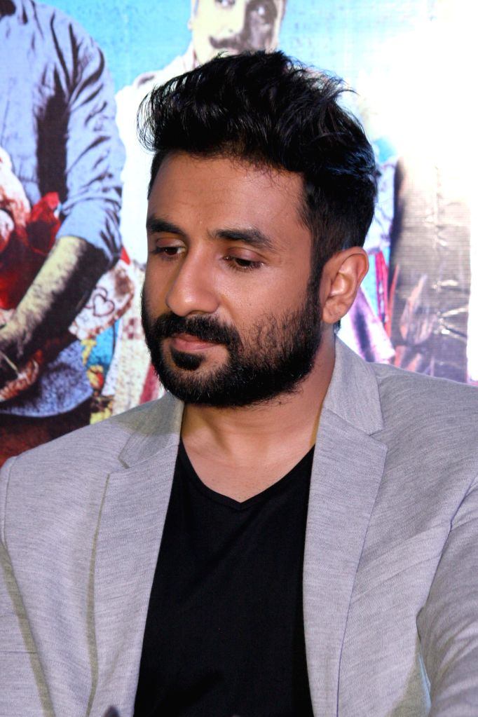 Actor during a press conference to promote his upcoming film 'Revolver Rani' in Noida on April 18, 2014.