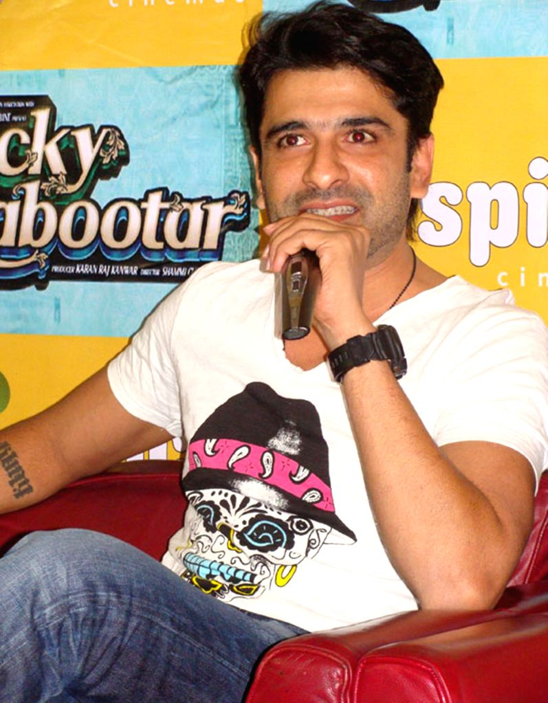 Promotion of film 'Lucky Kabootar'