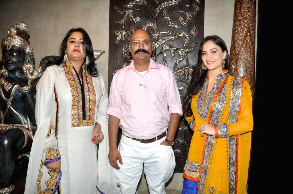 Actor Elli Avram during the launch of store Grand Trunk Show in Mumbai, on April 18, 2014. - Elli Avram