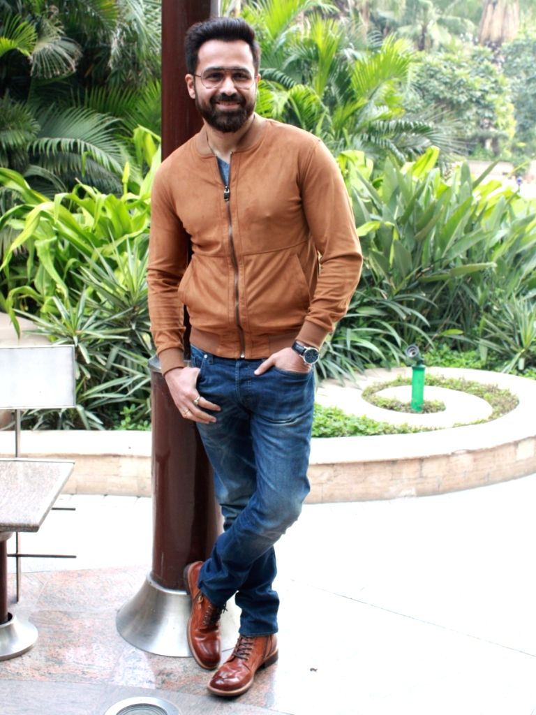 """Actor Emraan Hashmi at a press conference to promote his upcoming film """"Why Cheat India"""" in New Delhi, on Jan 11, 2019. - Emraan Hashmi"""